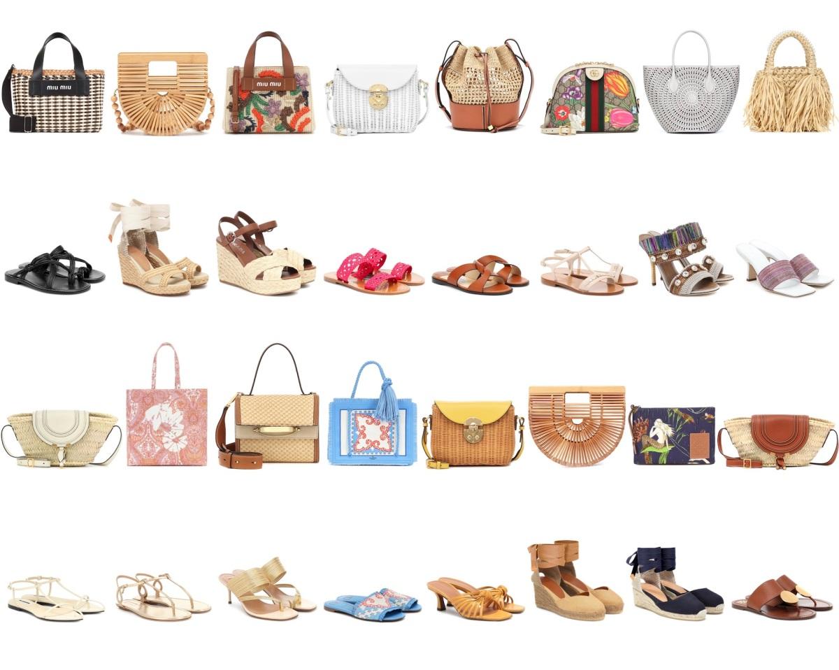 De rafia, ratán y lienzo: Los bolsos y sandalias de verano más frescos ¡para tus días de más calor!